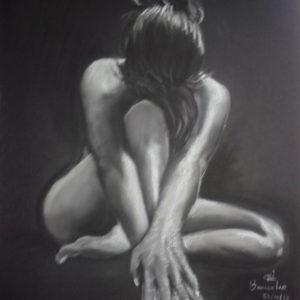 Sensualidad - Pastel/ 50X65   vendido